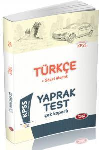 Data KPSS Türkçe Kazı Bil Anında Öğren Çek Kopar Yaprak Test 2018