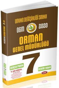 Data Yayınları 2020 OGM Orman Genel Müdürlüğü Unvan Değişikliği 7 Deneme Sınavı