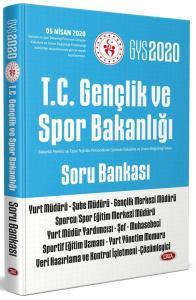 Data Yayınları 2020 GYS T.C. Gençlik ve Spor Bakanlığı Soru Bankası