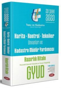 Data Yayınları 2020 GYUD Harita-Kontrol-Tekniker Unvanları ve Kadastro Müdür Yardımcısı Hazırlık Kitabi