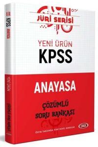 Data Yayınları 2020 KPSS Anayasa Çözümlü Soru Bankası Jüri Serisi