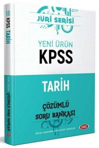 Data Yayınları 2020 KPSS Tarih Çözümlü Soru Bankası Jüri Serisi