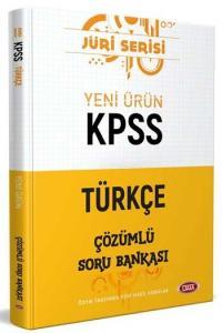 Data Yayınları 2020 KPSS Türkçe Çözümlü Soru Bankası Jüri Serisi