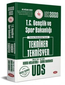 Data Yayınları 2020 UDS T.C. Gençlik ve Spor Bakanlığı Tekniker Teknisyen Konu Anlatımlı Soru Bankası