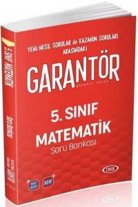 Data Yayınları 5. Sınıf Matematik Garantör Soru Bankası