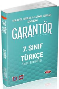 Data Yayınları 7. Sınıf Türkçe Garantör Soru Bankası