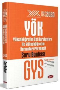 Data Yayınları GYS 2020 YÖK Üst Kuruluşları ile YÖK Personeli Soru Bankası