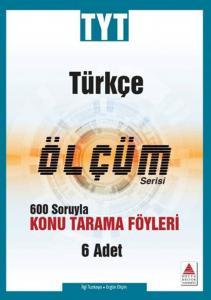 Delta Kültür TYT Türkçe Ölçüm Serisi Konu Tarama Föyleri