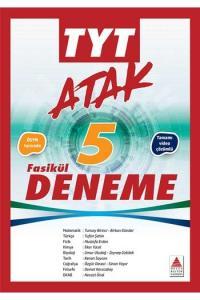 Delta Kültür Yayınları TYT ATAK Tamamı Çözümlü 5 Fasikül Deneme