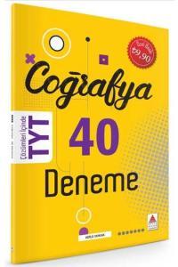 Delta Kültür Yayınları TYT Coğrafya 40 Deneme