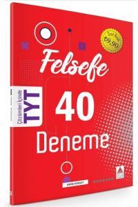 Delta Kültür Yayınları TYT Felsefe 40 Deneme