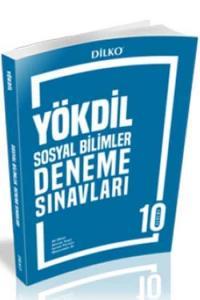 Dilko Yayıncılık YÖKDİL Sosyal Bilimler 10 Deneme Sınavı
