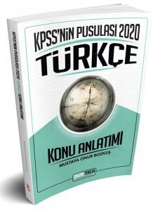 Doğru Tercih Yayınları 2020 KPSS nin Pusulası Türkçe Konu Anlatımı