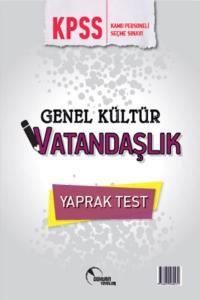 Doktrin KPSS Genel Kültür Vatandaşlık Yaprak Test 2018