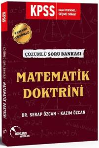 Doktrin Yayınları 2020 KPSS Matematik Doktrini Tamamı Çözümlü Soru Bankası