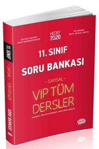 Editör Yayınları 11. Sınıf VIP Tüm Dersler Sayısal Soru Bankası