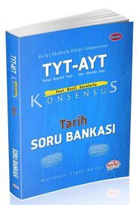 Editör Yayınları TYT AYT Konsensüs Tarih Soru Bankası