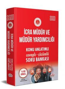 Editör Yayınları 2020 İcra Müdür ve Müdür Yardımcılığı Konu Anlatımlı Cevaplı Çözümlü Soru Bankası