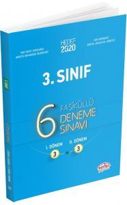 Editör Yayınları 3. Sınıf 6 Fasiküllü Deneme Sınavı