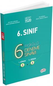 Editör Yayınları 6. Sınıf 6 Fasiküllü Deneme Sınavı