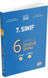 Editör Yayınları 7. Sınıf 6 Fasiküllü Deneme Sınavı