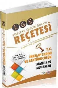 Editör 8. Sınıf LGS Reçetesi T.C. İnkılap Tarihi ve Atatürkçülük Mantık ve Muhakeme
