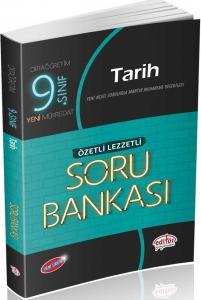 Editör Yayınları 9. Sınıf Tarih Özetli Lezzetli Soru Bankası