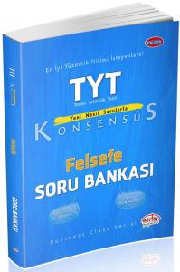 Editör Yayınları TYT Felsefe Konsensüs Soru Bankası