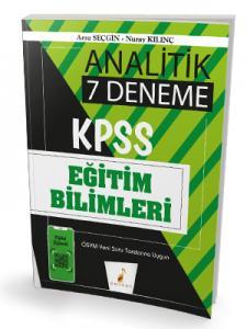 Pelikan Yayınları 2020 KPSS Eğitim Bilimleri Analitik Dijital Çözümlü 7 Deneme Sınavı