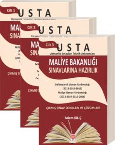 Ekin Usta Maliye Bakanlığı Sınavlarına Hazırlık 3 Cilt - Adem Kılıç