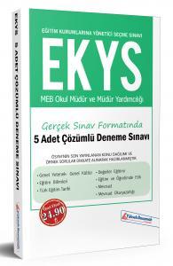 Yüksek Basamak EKYS MEB Okul Müdür ve Müdür Yardımcılığı Gerçek Sınav Formatında 5 Adet Çözümlü Deneme Sınavı