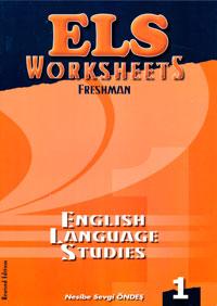 ELS Worksheets Freshman - Nesibe Sevgi Öndeş