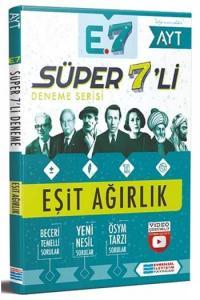 Evrensel İletişim Yayınları AYT Eşit Ağırlık Süper 7'li Deneme