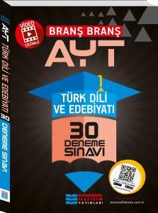 Evrensel İletişim AYT Türk Dili ve Edebiyatı Video Çözümlü 30 Deneme Sınavı