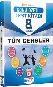 Evrensel İletişim Yayınları 8. Sınıf LGS Tüm Dersler Konu Özetli Video Çözümlü Test Kitabı