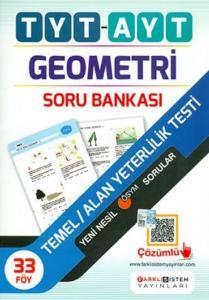 Farklı Sistem Yayınları TYT AYT Geometri Soru Bankası