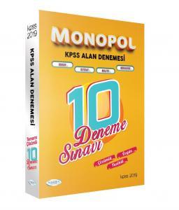 Monopol KPSS A Grubu Fasikül Çözümlü 10 Deneme Sınavı 2019