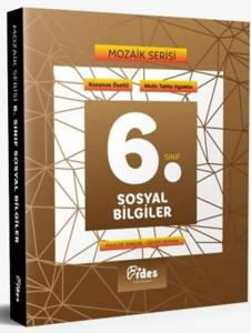 Fides Yayınları 6. Sınıf Sosyal Bilgiler Soru Bankası Mozaik Serisi