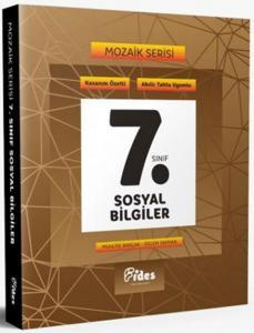 Fides Yayınları 7. Sınıf Sosyal Bilgiler Soru Bankası Mozaik Serisi