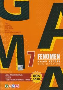 Gama Okul Yayınları 7. Sınıf Tüm Dersler Fenomen Kamp Kitabı