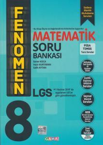 Gama Okul Yayınları 8. Sınıf LGS Matematik Fenomen Soru Bankası