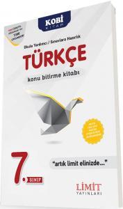 Limit 7. Sınıf Türkçe Konu Bitirme Kitabı