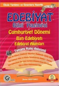 Gür Yayınları Edebiyat Bilgi Hazinesi Cumhuriyet Dönemi Batı Edebiyatı Edebiyat Akımları