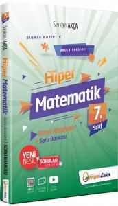 Hiper Zeka Yayınları 7. Sınıf Hiper Matematik Konu Anlatımlı Soru Bankası