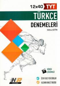 Hız ve Renk Yayınları TYT Türkçe 12x40 Denemeleri