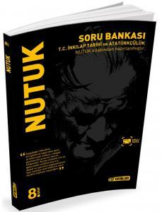 Hız Yayınları 8. Sınıf T.C. İnkılap Tarihi ve Atatürkçülük Nutuk Soru Bankası