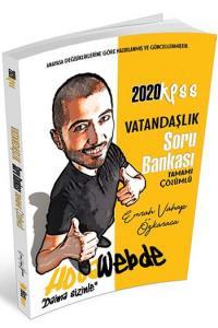 HocaWebde Yayınları 2020 KPSS Vatandaşlık Tamamı Çözümlü Soru Bankası