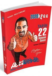 Hocawebde Yayınları 2020 KPSS Tarih Tamamı Çözümlü 22 Deneme