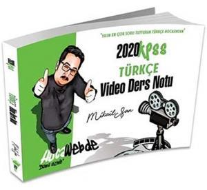 Hocawebde Yayınları 2020 KPSS Türkçe Video Ders Notu