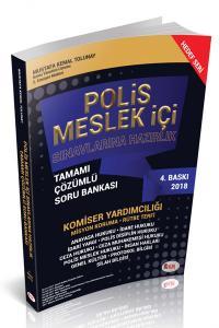 Hür Polis Meslek İçi Sınavlarına Hazırlık Tamamı Çözümlü Soru Bankası 2018 - Mustafa Kemal Tolunay
